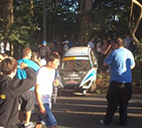 Accidente rally